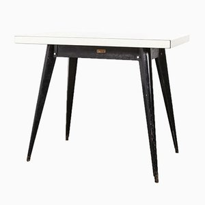 French T55 Tolix Rectangular Dining Table, 1950s