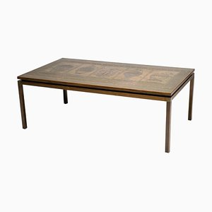 Embossed Copper Coffee Table