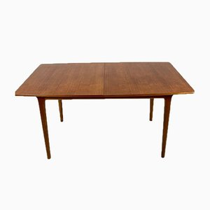 Mesa de comedor de teca de AH Mcintosh, años 60