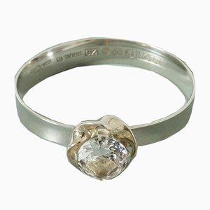 Silber und Bergkristall Armband von Karl-Erik Palmberg für Alton