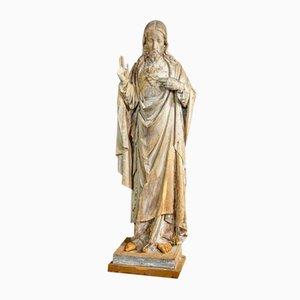 Scultura antica raffigurante Gesù, inizio XX secolo