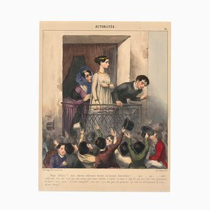 Clement Hemlock, News, 1840er, Lithographie