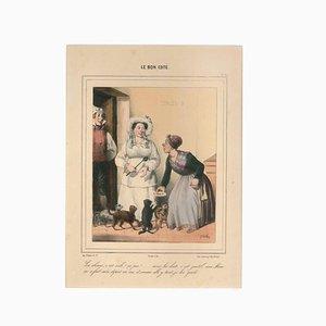 Litografia Clement Hemlock, The Good Side, metà XIX secolo