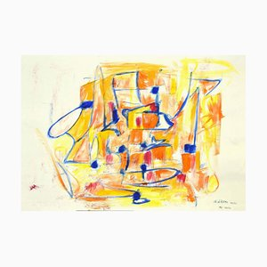 Giorgio Lo Fermo, Geometrical Abstract Composition, 2020, Mixed Media on Paper