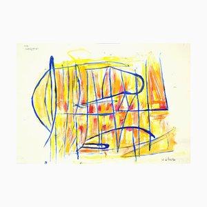 Giorgio Lo Fermo, Geometrische Abstrakte Komposition, 2020, Gemischte Medien auf Papier