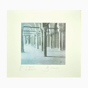 Bettino Craxi, Interior of the Tunisian Architecture, 1995, Photolithograph