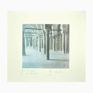 Bettino Craxi, Interior of the Tunisian Architecture, 1995, Photolitith