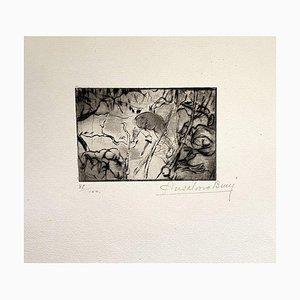 Acquaforte, Anselmo Bucci, 1917