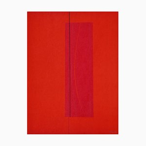 Lorenzo indrimi, Red Six, 1970er, Lithographie