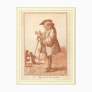 Joseph Franz Von Goetz, Le Méprisant Du Moderne, 1784, Etching