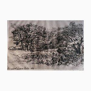 Sir Francis Seymour Haden, La Roxerie, 1867, Etching