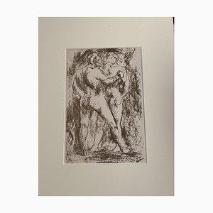 L, Sasso, Figur, 20. Jahrhundert, Lithographie