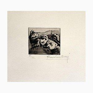 Anselmo Bucci, Militant, 1917, Radierung