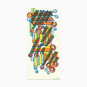 Umberto Maria Casotti, Komposition, Aquarell, 20. Jh