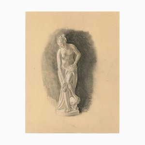 Venus, Early 20th-Century, Pencil on Paper