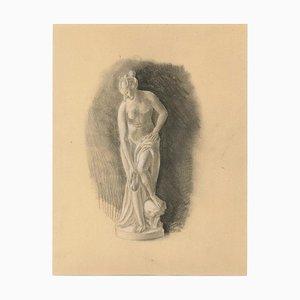 Venus, Frühes 20. Jahrhundert, Bleistift auf Papier