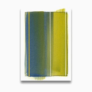 Matthew Langley, Map Fragment, 2015, Acrylic on Board