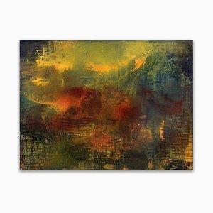 Yari Ostovany, Here Is Where We Meet (per John Berger), 2015, Olio su tela