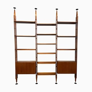Model Lb7 Bookcase by Franco Albini for Poggi