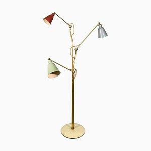 Stehlampe von Angelo Lelli für Arredoluce