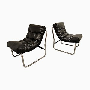 Vintage Lounge Chairs by Gillis Lundgren for Ikea, 1970s, Set of 2