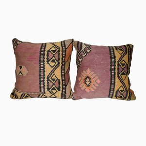 Contemporary Pillow Covers from Vintage Pillow Store Contemporary, Set of 2