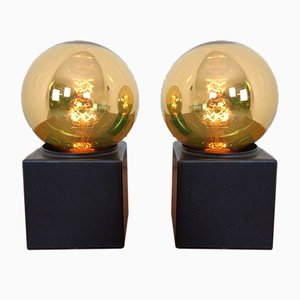 Space Age Table Lamps from Philips, 1970s, Set of 2