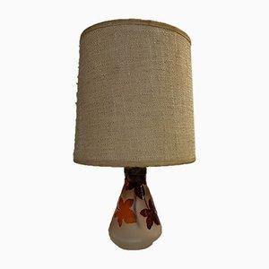 Lampada da tavolo vintage in vetro di La Rochere