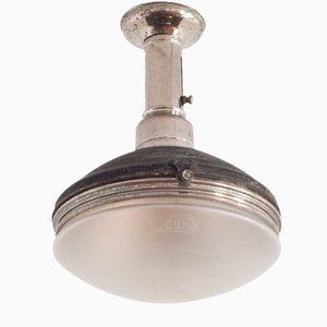 Lampada da soffitto vintage di GSM, Italia, anni '30