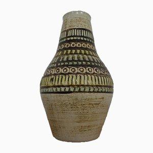 Fat Lava Keramikvase von Jasba, 1970er