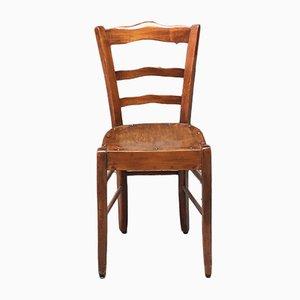 Antique Italian Walnut Dining Chair, 1900s