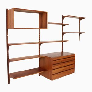 Wall Unit by Poul Cadovius for Cado, Denmark, 1960s