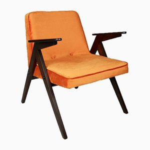 Orange Bunny Armchair by Józef Chierowski, 1970s