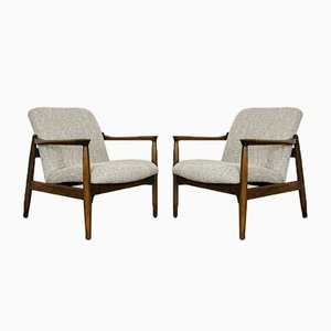 64 Armchairs by Edmund Homa for GFM, 1960s, Set of 2