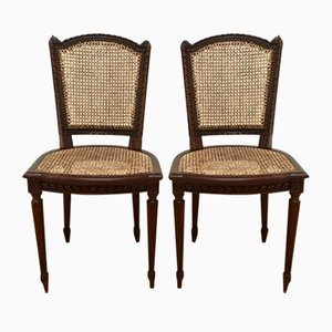 Antique French Louis XVI Chairs, Set of 2