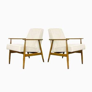 Type 300 190 Armchairs by H. Lis, 1960s, Set of 2