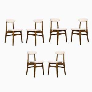 Chaises de Salon par Rajmund Teofil Hałas, 1960s, Set de 6