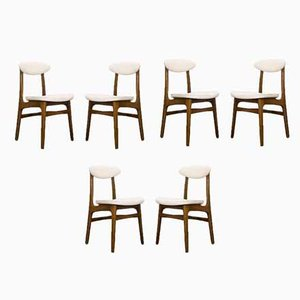 Dining Chairs by Rajmund Teofil Hałas, 1960s, Set of 6