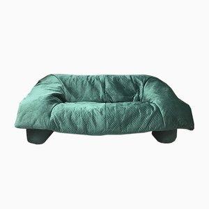 Blaues Vintage Unschärfe Sofa von Ligne Roset, 1990er