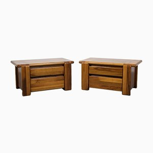 Bedside Tables by Mario Marenco for Mobil Girgi , 1970s, Set of 2