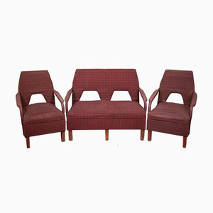 Sofas von Gigi Radice, 1950er, 3er Set