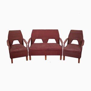 Sofas von Gigi Radice, 1950er, Set of 3
