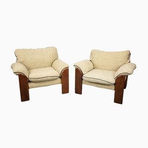Armchairs by Mario Marenco for Mobil Girgi, 1970s, Set of 2