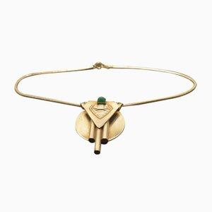 Vintage Art Deco Silber Halskette
