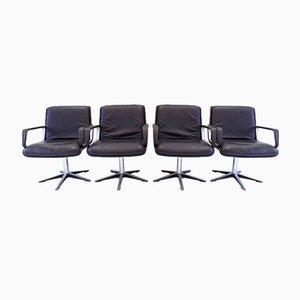 Chaises Delta 2000 par Delta Design pour Wilkhahn, 1960s, Set de 4