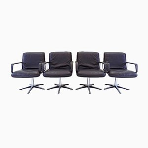 Delta 2000 Chairs by Delta Design for Wilkhahn, 1960s, Set of 4