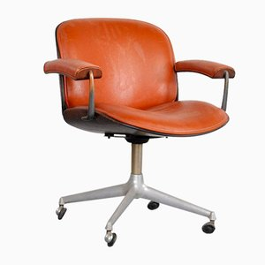 Office Chair wth Armrests by Ico Luisa Parisi for MIM, 1970s