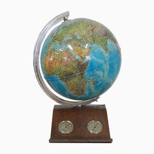 Globus mit Lampe und Barometer von Rico Globus, Italien, 1990er