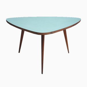 Green Triangle Formica Coffee Table, 1950s