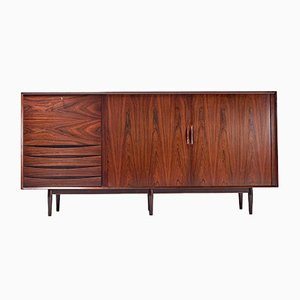Danish Rosewood Highboard by Arne Vodder for Sibast, 1960s